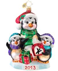 christopher radko 2013 collectable ornaments