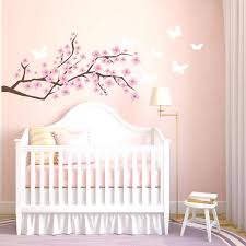 Nursery Wall Decals Canada Butterfly Decals For Walls Plus Cherry Blossom Wall Decal Nursery
