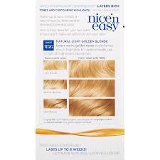 Light Golden Blonde Hair Color Clairol Nice U0027n Easy Hair Color 9g Natural Light Golden Blonde 1