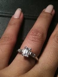 emerald cut wedding band emerald cut wedding ring wedding corners