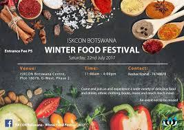 iskcon botswana winter food festival 2017 at iskcon botswana