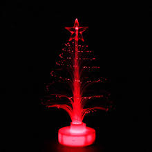 Christmas Tree With Optical Fiber Lights - popular mini fiber optic christmas tree buy cheap mini fiber optic