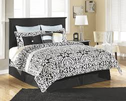 Bedroom Sets White Cottage Style Amazon Com Maribel Black Queen Full Panel Headboard Bedroom