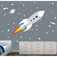 28 wall stickers space space planet wall stickers by wall stickers space rocket wall decal for nursery or baby room