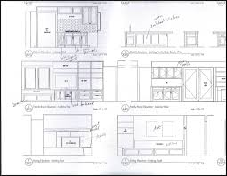 Kitchen Cabinet Diagram by Surprising Kitchen Cabinet Elevation Cabinets Designs By Dimension