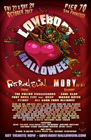 loveboat halloween ft fatboy slim in san francisco at pier 70