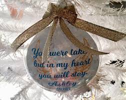 loved one ornament etsy