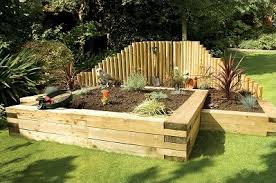 Garden Improvement Ideas Garden Improvement Ideas Using Railway Sleepers Landscape Juice
