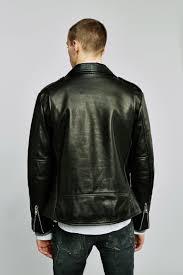 black leather biker jacket black leather biker jacket faith connexion paris
