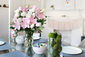 Easter Decorations For Table by Diy Easter Centerpieces For The Table