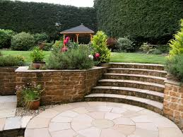 landscaping ideas for front yard retaining wall with walls the