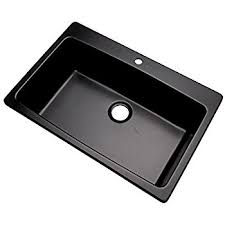 Composite Kitchen Sink Reviews by Dekor Sinks 70199q Northampton Composite Granite Single Bowl