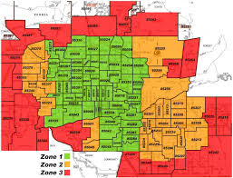 Atlanta Zip Code Map Phoenix Arizona Zip Code Map Phoenix Az Zip Code Map Arizona Usa