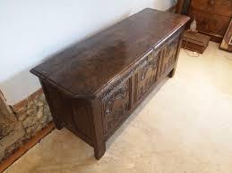 coffer chest blanket box exceptional charles ii oak c1680 495314