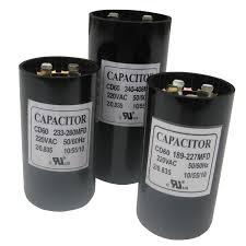 uf mfd microfarad 220 275v electric motor start capacitor 130 156
