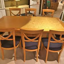 italian dining table and 8 chairs out of the box
