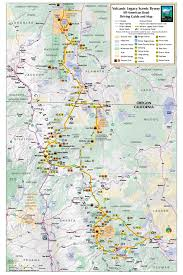 Crater Lake Oregon Map by Map To The Volcanic Legacy Scenic Byway National Parks And Monuments