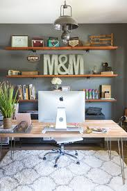 home office design themes how to build industrial wood shelves wood shelf industrial and