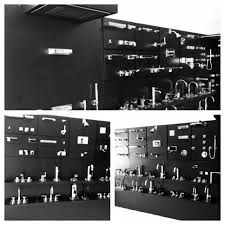 Dornbracht Display At Our New Showroom In The Miami Design District Bathroom Fixtures Miami