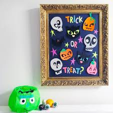 halloween trick or treat game with velcro brand