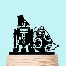 wars wedding cake topper wars silhouette wedding cake topper acrylic custom