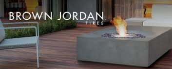 Brown Jordan Fire Pit by Ethanol Fireplaces By Ecosmart Fire Modern Ventless Fireplaces