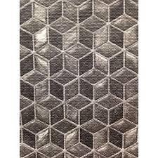 tappeti stile shabby tappeto con cubi geometrici al taglio al metro antiscivolo brico