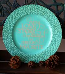 painted platters personalized 13 decorative antique mosaic turquoise charger plate every
