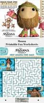 moana printable fun worksheets experimental homesteader