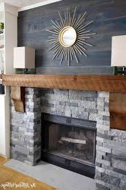 stunning concrete fireplace with wood mantle fireplace ideas to