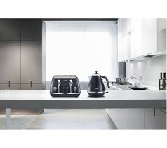 Blue 4 Slice Toaster Buy Delonghi Elements Ctoe4003 Bl 4 Slice Toaster Ocean Blue