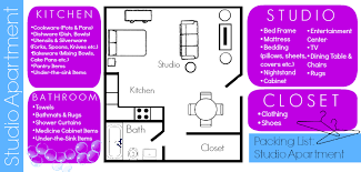 apartment needs packing planner packing your studio apartment moving insider