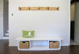bench how to build a mudroom bench with cubbies well being hall