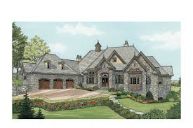 Chateau Home Plans Home Plan Homepw75743 6155 Square Foot 4 Bedroom 4 Bathroom