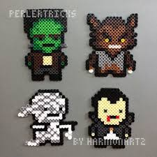 Halloween Perler Bead Templates by Perler Perler Pixels U2014 In The Spirt Of Halloween Craft Ideas