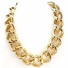 chain link necklace with images Gold chainnzz polyvore out=j