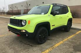 new jeep renegade green new jeep renegades for sale in edmonton