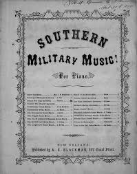 Bonnie Flag 093 016a Southern Military Music For Piano Bonnie Blue Flag