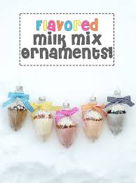 flavored milk mix ornaments sprinkle some fun