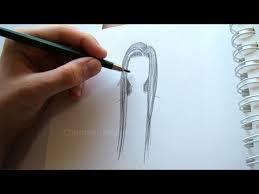 Frisuren Zeichnen Anleitung by Zeichnen Lernen Haare Zeichnen Einfache Frisur Malen Lernen