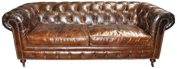 fresh antique leather tufted sofa 9321