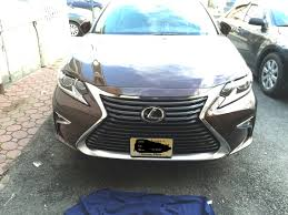 lexus es 2016 front license plate relocation on 2016 es 350 clublexus lexus