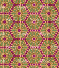 Morrocan Design Seamless Islamic Moroccan Pattern Arabic Geometric Ornament Muslim