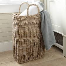 wicker kitchen furniture wicker baskets used as storage in the small spaces