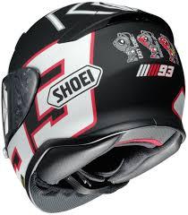 shoei motocross helmets shoei rf 1200 marquez full face helmet
