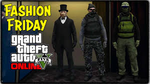 gta 5 online fashion friday jack the ripper forest u0026 charcoal