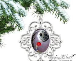 personalized memorial christmas tree ornament custom photo