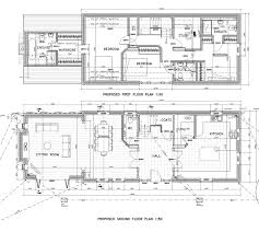 100 sloped lot floor plans craftsman house plans treyburn