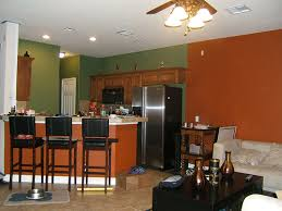 Painting The Family RoomKitchen Combo Room Kitchen Dark Colors - Kitchen and living room colors