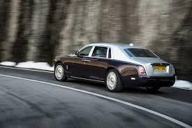 rolls royce phantom rear 2018 rolls royce phantom first drive review automobile magazine
